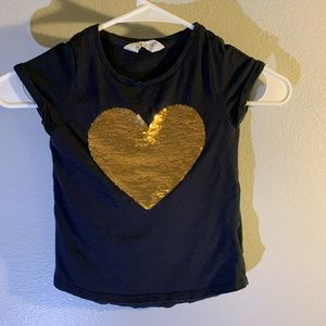 H&M sequin changing shirt size 4t